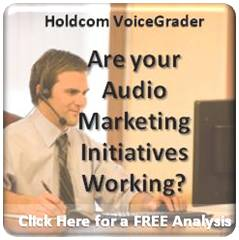 Holdcom Audio Marketing Consultation