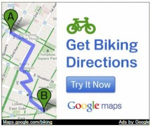 get biking directions (Google)