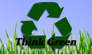 Think Green (recycling symbol)