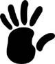 (black) left hand