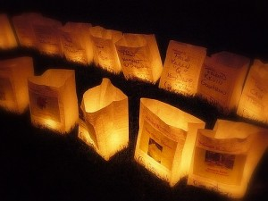luminarias (relayforlife)