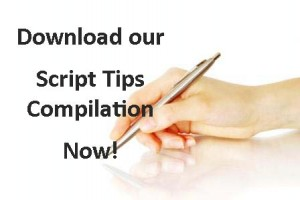 pen in hand (script tips)