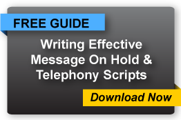 Message On Hold Scriptwriting, IVR Script Samples