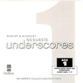 Acoustic Underscores I (3)